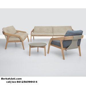 Kursi Tamu Sofa Retro Scandinavian Modern