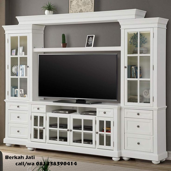 Lemari Bufet Tv Warna Putih