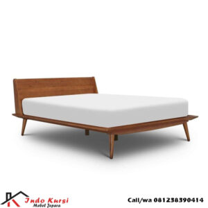 Tempat Tidur Retro Minimalis Jati