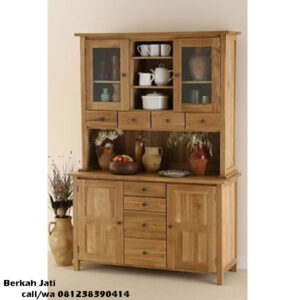 Lemari Dapur Warna Walnut M