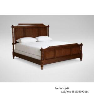 Tempat Tidur Klasik Kayu Jati