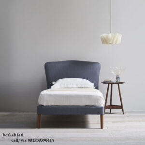 Tempat Tidur Sandaran Lengkung Full Jok