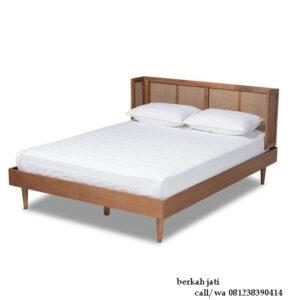 Tempat Tidur Kekinian Mix Rotan